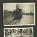 Fotografía antigua: MONTSERRAT - FERROCARRIL - CONJUNTO DE 18 FOTOS - MIDEN 6 X 8 CM - VER ADICIONALES - (F-779). Lote 46977584