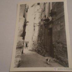 Fotografía antigua: ANTIGUA FOTOGRAFIA CASA PALACIO DE HARO,LA RIOJA,AÑOS 60.. Lote 47258804