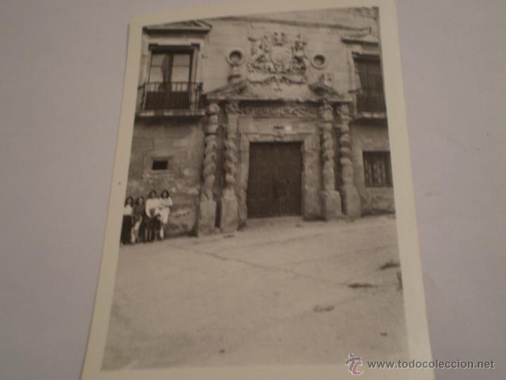 ANTIGUA FOTOGRAFIA CASA DE LA CULTURA DE HARO,LA RIOJA.AÑOS 60 (Fotografía Antigua - Fotomecánica)