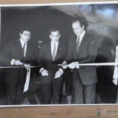 Fotografía antigua: CASA REAL FOTOGRAFÍA ORIGINAL BLANCO Y NEGRO AÑOS 70 / 80 REY JUAN CARLOS REINA SOFIA REY FELIPE VI. Lote 47326604