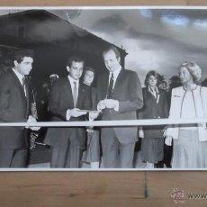 Fotografía antigua: CASA REAL FOTOGRAFÍA ORIGINAL BLANCO Y NEGRO AÑOS 70 / 80 REY JUAN CARLOS REINA SOFIA REY FELIPE VI. Lote 47326614