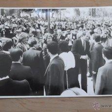 Fotografía antigua: CASA REAL FOTOGRAFÍA ORIGINAL BLANCO Y NEGRO AÑOS 70 / 80 REY JUAN CARLOS REINA SOFIA REY FELIPE VI. Lote 47326622