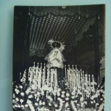 Fotografía antigua: SEMANA SANTA DE LA LINEA ( CADIZ ) : VIRGEN NTRA. SRA. DE LA ESPERANZA. Lote 47507111