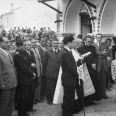 Fotografía antigua: PERIANA. INAGURACION DEL MERCADO Y LAVADEROS. 1948. Lote 47598394