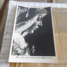 Fotografía antigua: FOTO FOTOGRAFIA SEMANA SANTA DE SEVILLA LA ESPERANZA MACARENA FOTO HARETON. Lote 47807168