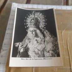 Fotografía antigua: FOTO FOTOGRAFIA SEMANA SANTA DE SEVILLA LA ESPERANZA MACARENA FOTO HARETON. Lote 47807366