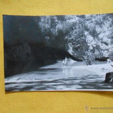 Fotografía antigua: CUEVA DEL TURCHE. MACASTRE, ALBORACHE, BUÑOL. YÁTOVA. AÑO 1954. MIDE 6,5 X 9,5 CM.. Lote 47993782