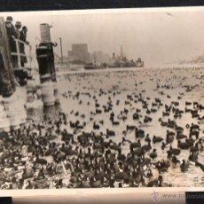 Fotografía antigua: FOTOGRAFIA DE PATOS EN KIEL, ALEMANIA. 23 X 18CM.. Lote 48150481