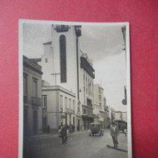 Fotografía antigua: EDIFICIO. FRONTÓN LAS PALMAS (8,5 X 6 CM). Lote 48190371