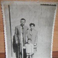 Fotografía antigua: FOTOGRAFIA FAMILIAR - FOTOGRAFIA BELLIDO - SABADELL. Lote 48322122