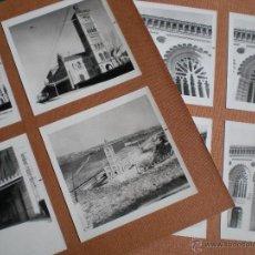 Fotografía antigua: TOLEDO ESTACIÓN FERROCARRIL TREN 8 FOTOGRAFÍAS ANTIGUAS DE UN PROYECTO DE RESTAURACIÓN.. Lote 48431349