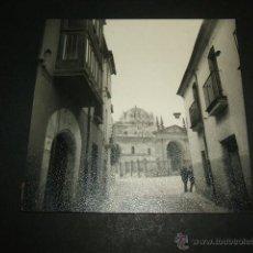 Fotografía antigua: ZAMORA ASPECTO URBANO ANTIGUA FOTOGRAFIA. Lote 48746005