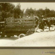 Fotografía antigua: MILITAR. MARRUECOS. LARACHE. ARTILLERIA. HACIA 1930. LOTE 7 GRANDES FOTOS DE A. GAVILÁN.. Lote 48759178