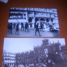 Fotografía antigua: DOS FOTOS MECANICA ,GUERRA CIVIL ESPAÑOLA. SALAMANCA .REPRODUCCION.. Lote 48792874