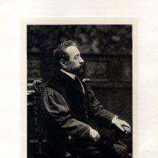 Fotografía antigua: FOTOGRAFÍA. SR. D. JOSÉ MARIA VALLÉS Y RIBOT. ABOGADO, LICENCIADO EN ADMINISTRACIÓN. . Lote 48845929