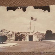 Fotografía antigua: CUBA. LA HABANA. VISTA DE UN CASTILLO. 36 X 28CM.. Lote 49022878