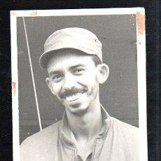 Fotografía antigua: CUBA. COMANDANTE REVOLUCIONARIO PITI FAJARDO. MEDIDAS: 20 X 13CM.. Lote 49023163