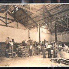 Fotografía antigua: CUBA. FABRICA CURTIDORA DE PIELES. 24 X 18CM.. Lote 49025345