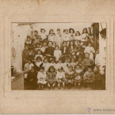 Fotografía antigua: FOTOGRAFOA ESCOLSAR PRINCIPIOS DE SIGLO XX 18X12 SIN CARTON. Lote 49030055