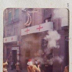 Fotografía antigua: FOTO ALCOY FIESTAS MOROS Y CRISTIANOS EL ALARDO. CALLE S. NICOLÁS. AÑO 1977. Lote 49069420