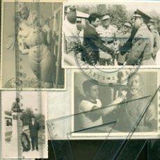 Fotografía antigua: ESCULTOR SANTIAGO DE SANTIAGO. GENERAL GARCÍA VALIÑO. MARRUECOS. MILITAR. HACIA 1955.LOTE DE 5 FOTOS. Lote 49166137