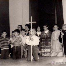 Fotografía antigua: ALBACETE, ANTIGUA FOTOGRAFIA REPRESENTACION TEATRAL INFANTIL,FOT.SEGURA,14X9. Lote 49349846
