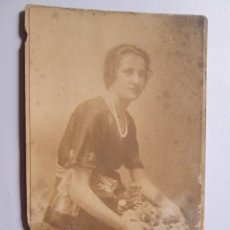 Fotografía antigua: MUJER - WOMAN - FEMME . Lote 49404985