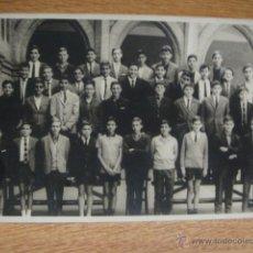 Fotografía antigua: GRUPO ESCOLAR - FOTO ARCALI - BARCELONA. Lote 49415778