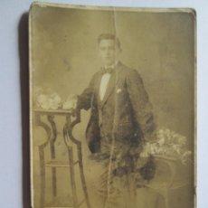 Fotografía antigua: HOMBRE ELEGANTE - ELEGANT MAN - HOMME ÉLÉGANT. Lote 49421222