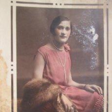 Fotografía antigua: MUJER - WOMAN - FEMME . Lote 49421238