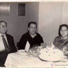 Fotografía antigua: ALBACETE, ANTIGUA FOTOGRAFIA DE UNA CELEBRACION,FOT.SAIZ,114X85MM. Lote 49425845