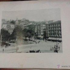 Fotografía antigua: BILBAO, EL PASEO DEL ARENAL. AÑO 1891 HAUSER MENET FOTOTIPIA 21 X 15 CM. Lote 49474627