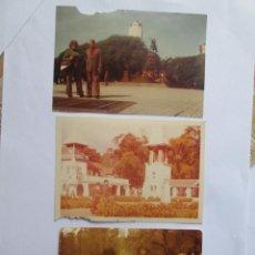 Fotografía antigua: 3 FOTOS PERSONAS, PAISAJES, 3 PHOTOS PERSONNES, PAYSAGES, 3 PHOTOS PEOPLE, LANDSCAPES. Lote 49534606