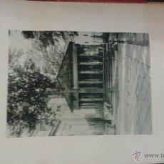 Fotografía antigua: LAMINA DE GUERNICA (VIZCAYA). ARBOLA GERNICACO. AÑO 1891 HAUSER MENET FOTOTIPIA. . Lote 49539985