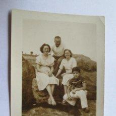 Fotografía antigua: FAMILIA - FAMILY - FAMILLE . Lote 49567635