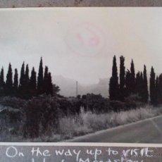 Fotografía antigua: 1969 -FOTO ORIGINAL -CARRETERA SANTUARIO LLUCH-MONASTERIO LLUCH - ESCORCA- MALLORCA - ISLAS BALEARES. Lote 49619401