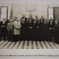 Fotografía antigua: 1961 CORPORACIÓN MUNICIPAL DE SAN FERNANDO. CADIZ. FOTOGRAFIA ORIGINAL. NO REPRODUCCION.. Lote 49715928
