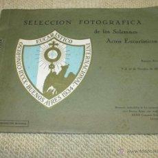 Fotografía antigua: SELECCIÓN FOTOGRÁFICA DEL CONGRESO EUCARÍSTICO INTERNACIONAL DE BUENOS AIRES, ARGENTINA, 1934. Lote 49742111