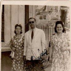 Fotografía antigua: SEVILLA,1945, MINUTERO AMBULANTE,56X82MM. Lote 49765286