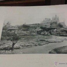 Fotografía antigua: EL ALCAZAR. SEGOVIA. AÑO 1891 HAUSER MENET FOTOTIPIA. 24 X 30 CM. Lote 49896476
