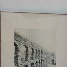 Fotografía antigua: EL ACUEDUCTO. SEGOVIA. AÑO 1891 HAUSER MENET FOTOTIPIA. 24 X 30 CM. Lote 49896460
