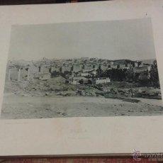 Fotografía antigua: AVILA VISTA GENERAL. AÑO 1891 HAUSER MENET FOTOTIPIA. 24 X 30 CM. Lote 49902549