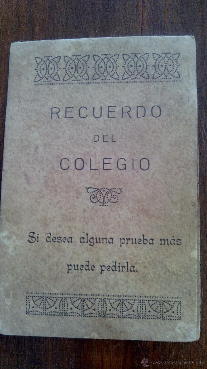 Fotografía antigua: RECUERDO DEL COLEGIO - Foto 2 - 50089337