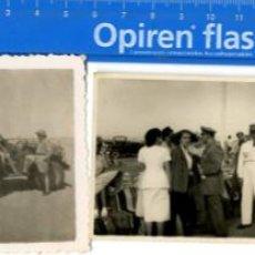 Fotografía antigua: PROTECTORADO MARRUECOS CONJUNTO 4 FOTOS DETALLE EJERCITO AÑOS 40-50 . Lote 50198459