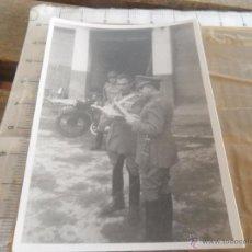 Fotografía antigua: FOTO MILITAR MILITARES GUERRA CIVIL. Lote 50396019