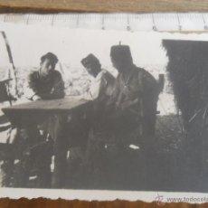 Fotografía antigua: FOTO MILITAR MILITARES GUERRA CIVIL . Lote 50396102