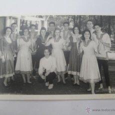 Fotografía antigua: PAREJAS BAILE TRADICIONAL. TRADITIONAL DANCE COUPLES. COUPLES DANSE TRADITIONNELLE. Lote 50551824