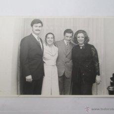 Fotografía antigua: PAREJAS HERMOSOS VESTIDOS. COUPLES BELLES ROBES, BEAUTIFUL DRESSE. Lote 50551846
