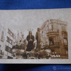 Fotografía antigua: SEMANA SANTA SEVILLA - HDAD SAN GONZALO - PASO ANTIGUO CRISTO SOBERANO PODER DE CASTILLO LASTRUCI. Lote 50703224