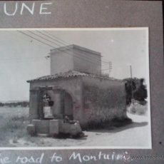 Fotografía antigua: 1969 - FOTO ORIGINAL- POZO EN EL CAMINO A MONTUIRI - PLA DE MALLORCA - MALLORCA - ISLAS BALEARES. Lote 50765201